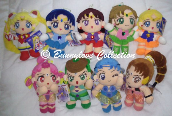 Banpresto Sailor Moon Super S Set
